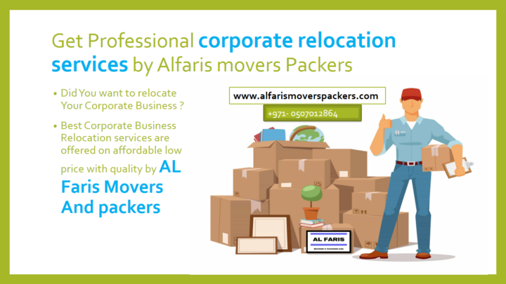 corporate relocation services alfaris movers and packers UAE