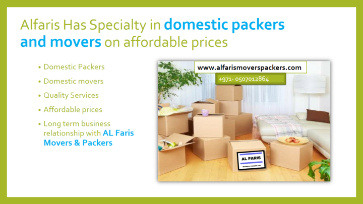 domestic pakers and movers