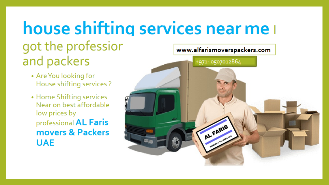 house shifting services near me