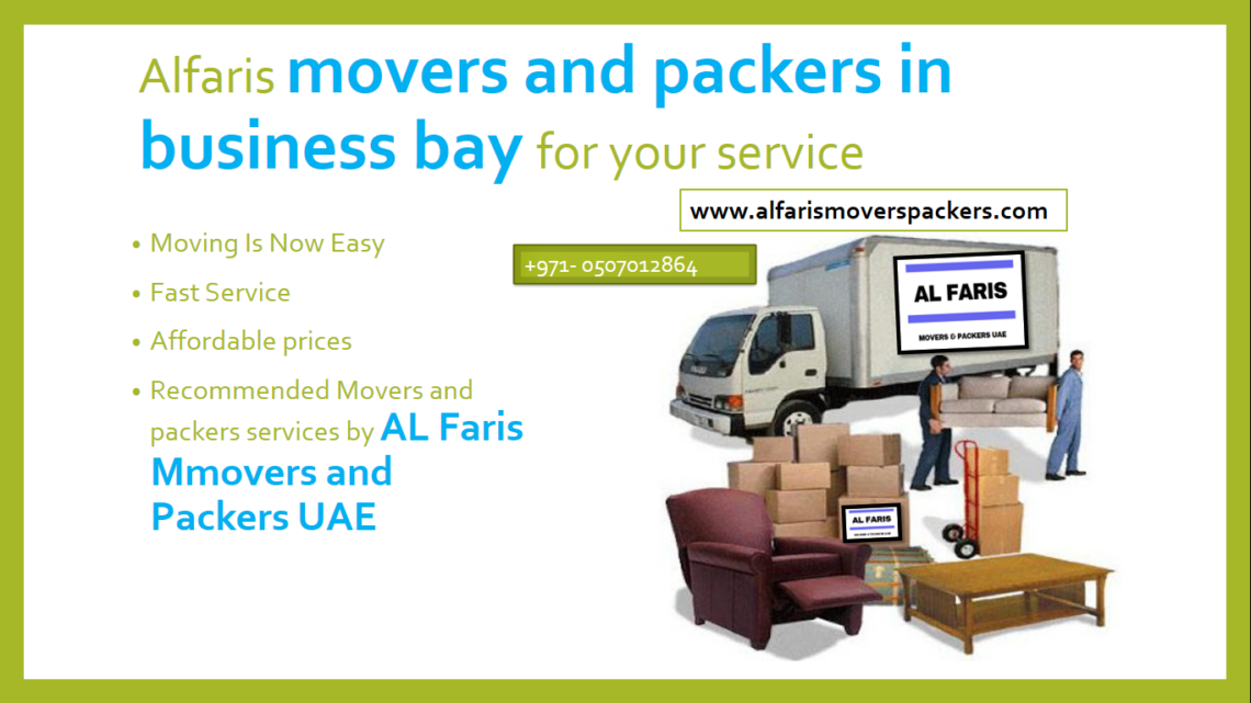 movers packers in business bay