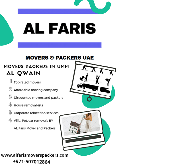 movers and packers in umm al qwain
